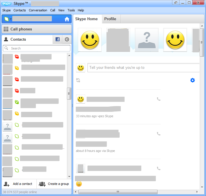 Skype makes it easy to stay in touch